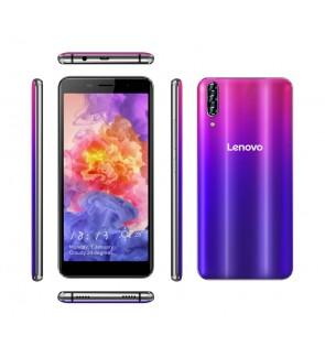 4G LTE LENOVO V11  with Colourful Shining Back Casing