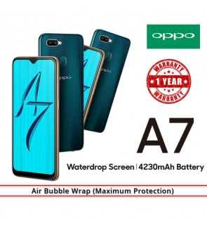 (NEW ARRIVALS) OPPO A7 3GB/32GB  6.3 INCH FULL SCREEN (IMPORT SET)