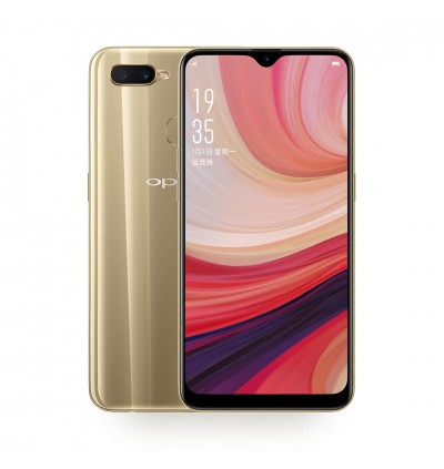 6.11 Inch WATER DROP SCREEN 4G LTE Oppo A7 3GB/32GB (Import Set)