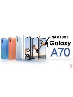 6.22 Inch Water Drop Screen Samsung A70 3GB+32GB (Import Set)