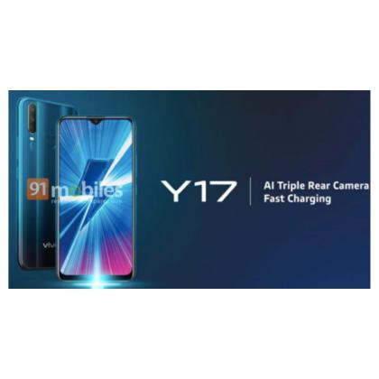 6.22 Inch FULL SCREEN VIVO Y17 3GB/32GB (Import Set)