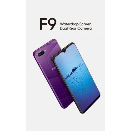 4G LTE OPPO F9 3GB/32GB (IMPORT SET)