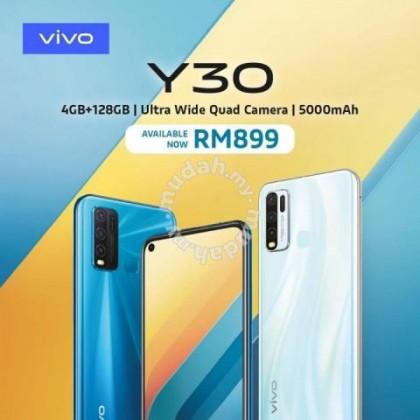 VIVO Y30 (4GB+128GB) 6.47 INCH SCREEN DISPLAY