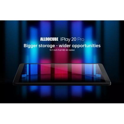 ALLDOCUBE iPlay20 Pro 10.1 inch Tablet PC 6GB RAM 128GB ROM Dual sim 4G LTE phone call Andriod 10 Support * Google class room * Google Meet * ZOOM *