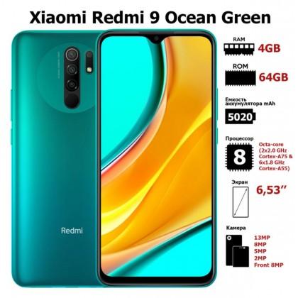 Original Xiaomi Redmi 9 (4GB+64GB) Sealed Set 1 Year Warranty Xiaomi Malaysia