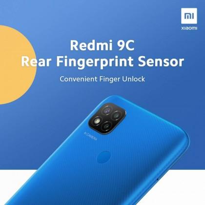 Original Xiaomi Redmi 9C (3GB+64GB) Sealed Set 1 Year Warranty Xiaomi Malaysia