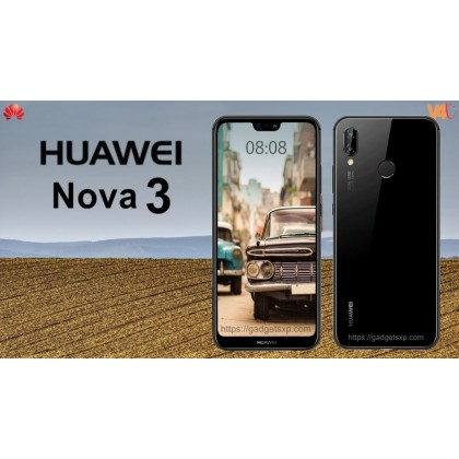 Huawei Nova 3 Dual SIM Dual Standby 6.3 Inch 6GB RAM 128GB ROM Original Used set