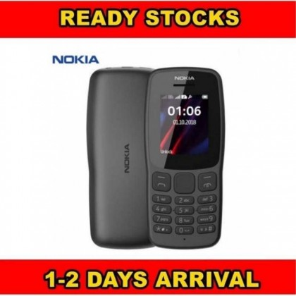 NOKIA 106 DUAL SIM Feature Grade A Phones New Full Set