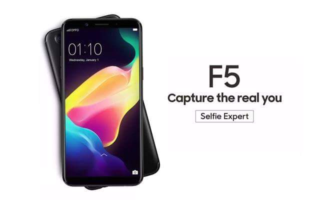 OPPO F5 64GB + 4GB SELFIE EXPERT CAMERA 20MP FACE ID FRINGERPRINT