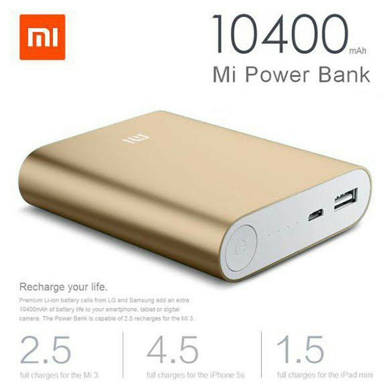 XIAOMI 10400mah Powerbank (Cheapest in town)